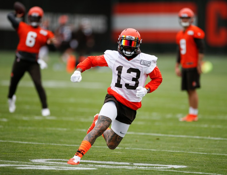 Browns star Odell Beckham Jr. close to being game ready - The Boston Globe