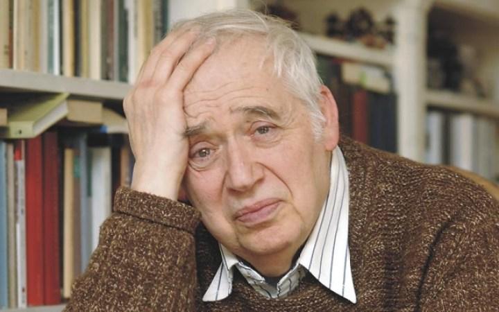 Harold Bloom, critico literario norteamericano.