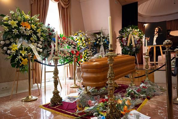 Funeral de Camilo Sesto en Madrid. (Foto: Getty)