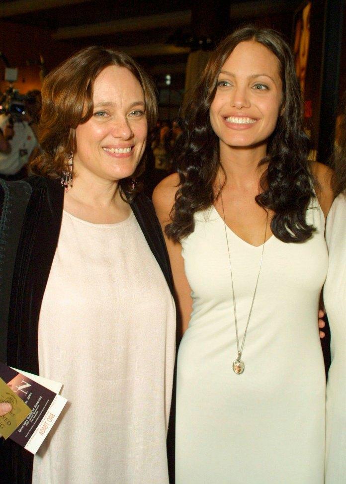 Angelina Jolie spoke about the death of her mother, Marcheline Bertrand (Shutterstock)