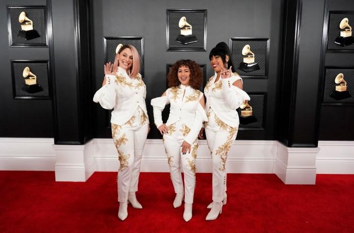 El grupo musical Flor de Toloache, nominado a mejor álbum de rock. Según María Gabriela Gurmandi,
