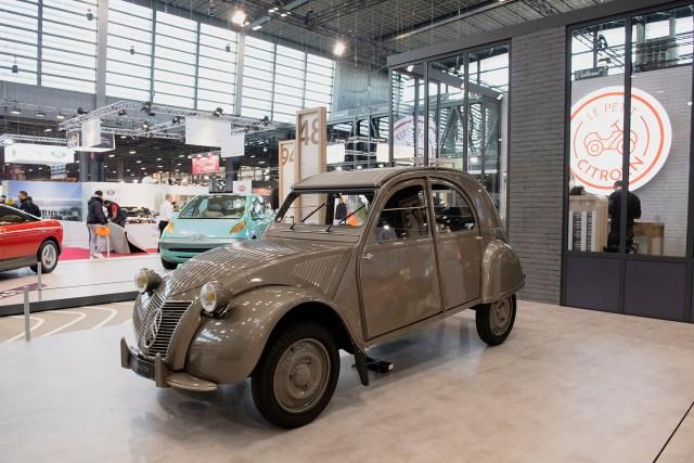 El 2 CV, uno de los principales éxitos de Citroën