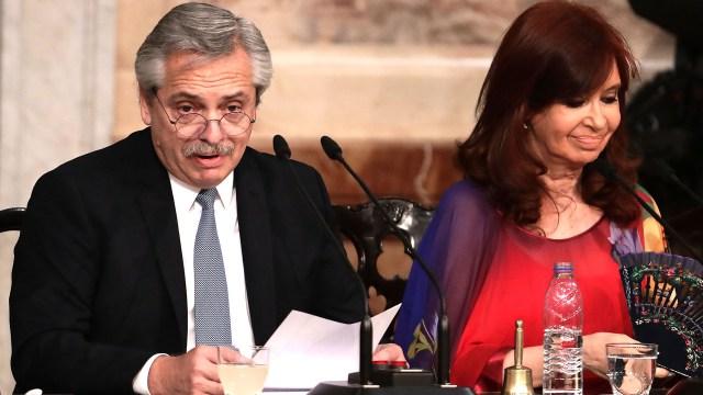 Se develó el misterio: qué le dijo Cristina Kirchner a Alberto ...