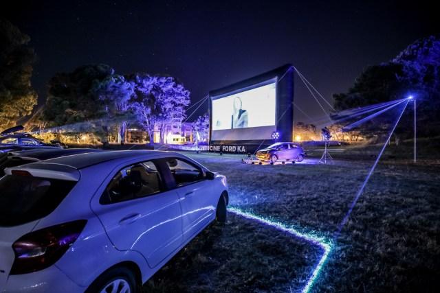 El fin de semana pasado, en el autocine del Ford Ka Freestyle se proyectaron las películas 'Misión Imposible: Nación Secreta' y 'Rampage'