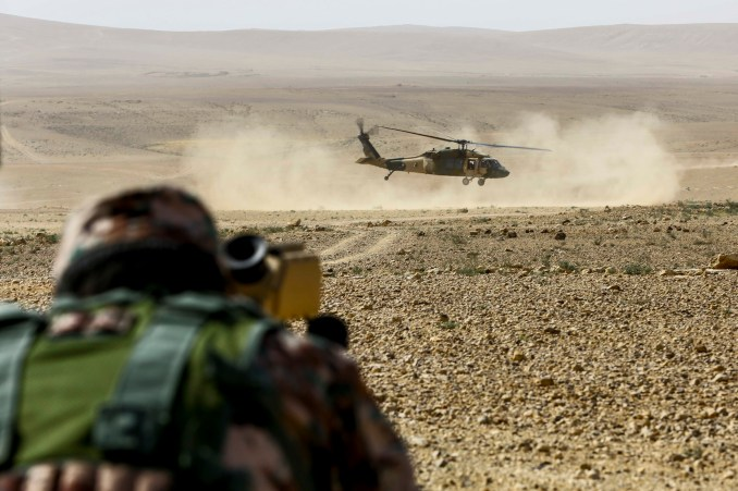 Officials: Troop buildup in Jordan is not for an invasion of southern Syria