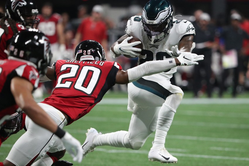 Eagles rookie Miles Sanders not off to a running start   Early Birds