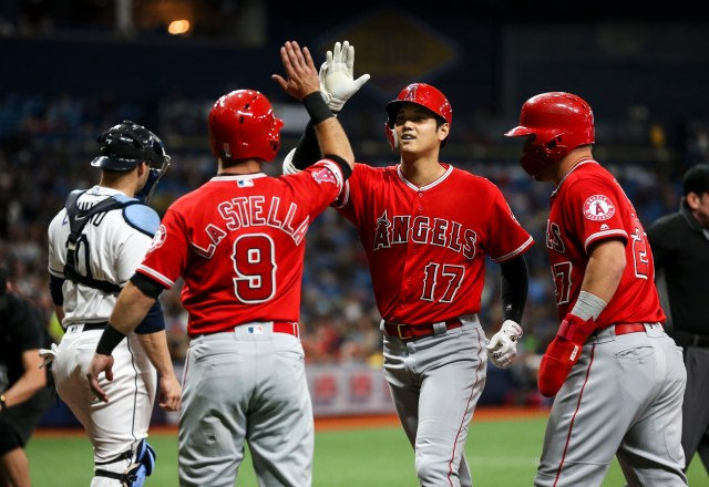Angels' Shohei Ohtani hits for the cycle against Rays