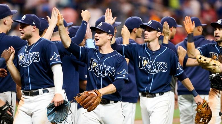 Tampa Bay Rays blank Yankees, tighten hold on AL wild-card spot