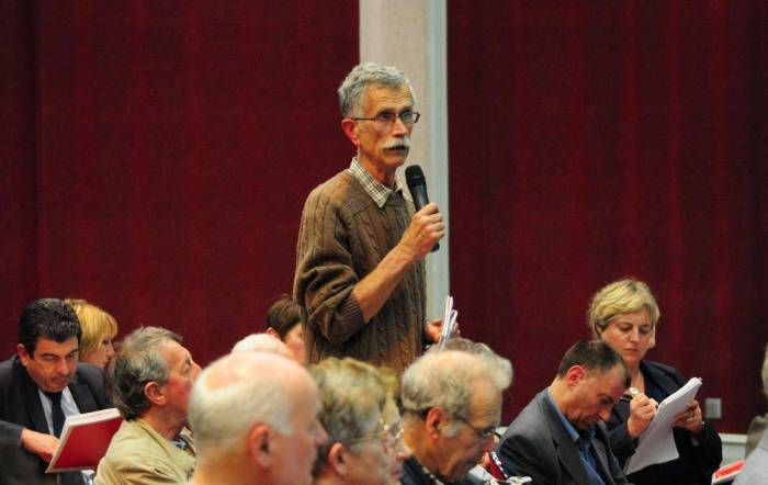 Forum-débat des opposants à EuropaCity à Paris