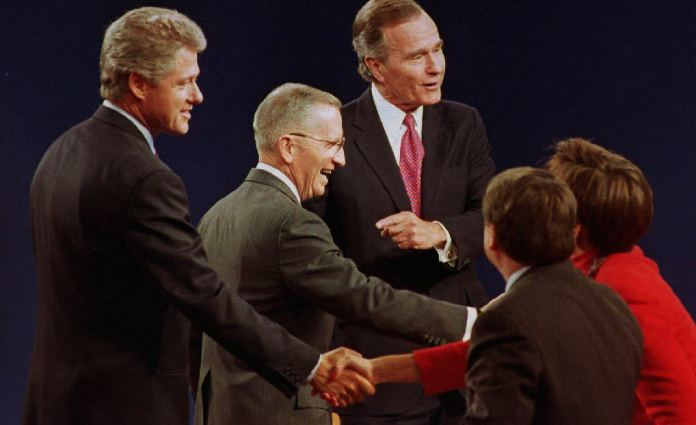 Opinion Ross Perot Walked So Trump Could Run The Washington Post