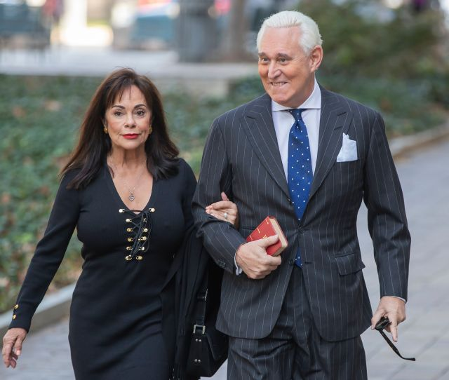 Roger Stone Guilty On All Counts Lying To Congress Obstruction