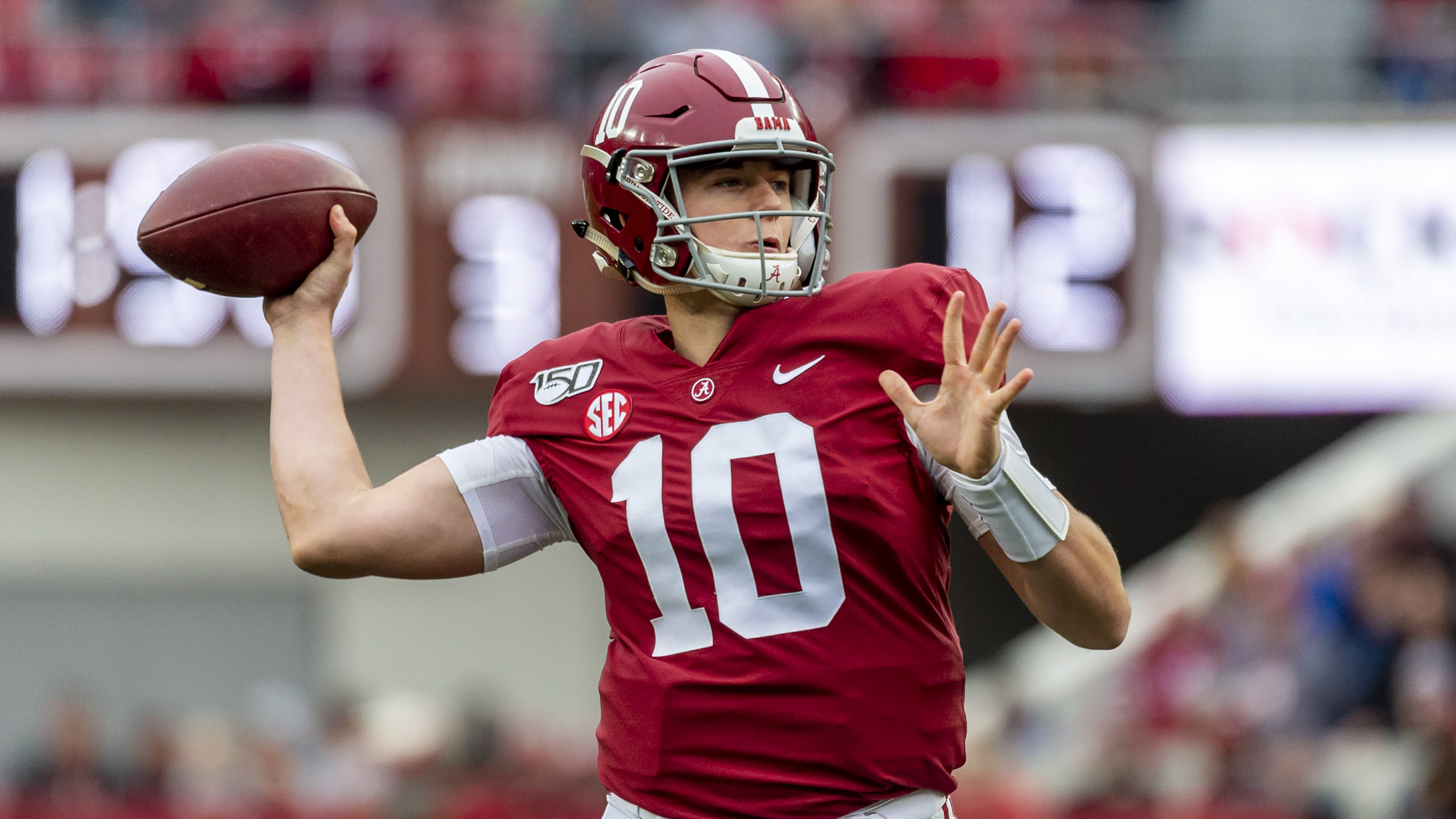 Mac Jones enters Iron Bowl with much to prove for Alabama - The Washington  Post