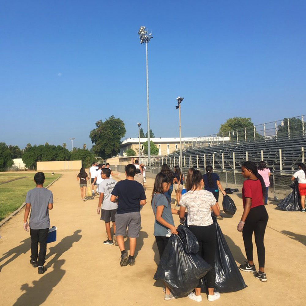 service-learning-campus-beautification