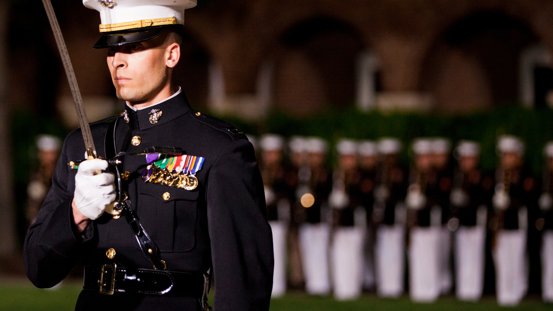 How The Marine Corps Earned Its Mameluke Sword