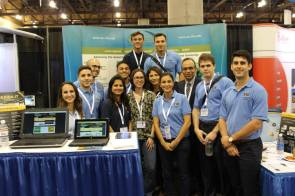 DOE Fellows & staff at ARC Booth