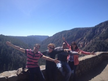ARC staff and students at 8K feet