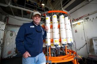 David Kadko, FIU, Chief Scientist, Geotraces Summer 2015 Arctic Expedition