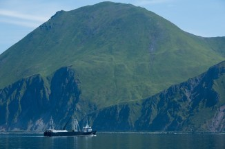 Iliuliuk Bay, The Aleutian Islands, Alaska