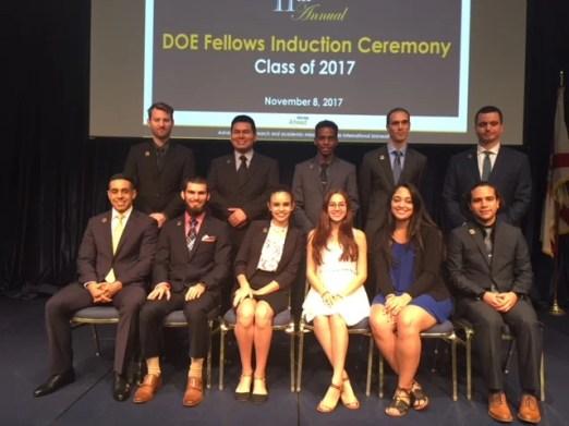 DOE Fellows Class of 2007