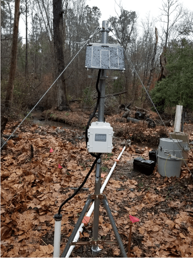 Remote monitoring stations being installed at SRS.