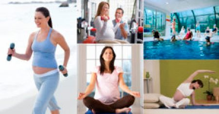 exercícios físicos na gestação