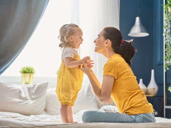 exercícios para estimular o desenvolvimento do bebê