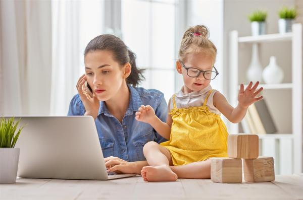 Bebê e trabalho