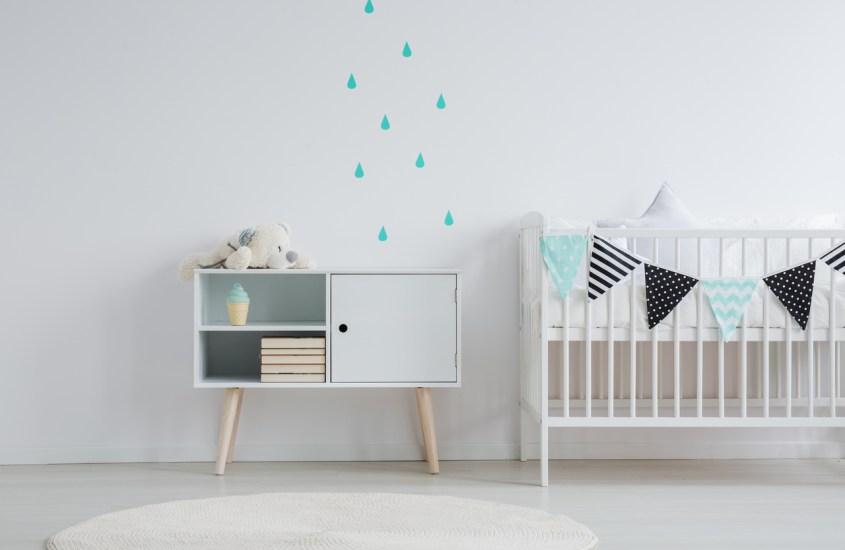 decorar quarto de bebê gastando pouco