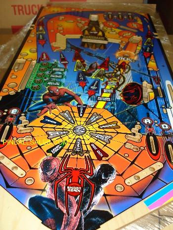 Spider-Man Playfield
