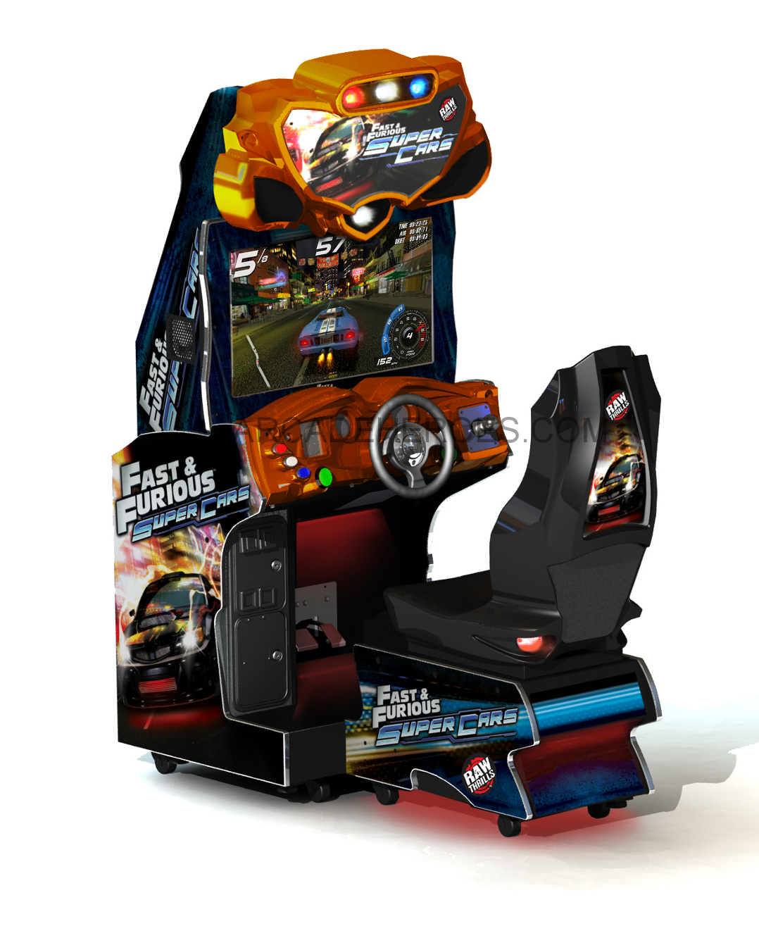 Arcade Heroes Fast Furious Super Cars By Raw Thrills Arcade Heroes