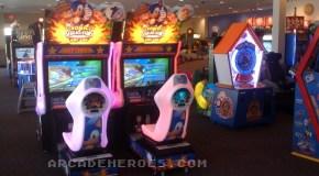 Sonic & Sega All-Stars Racing Arcade First Photos