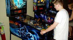 TRON Pinball and more from the NW Pinball & Gameroom Show