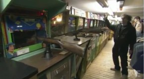 An amusement game hoarder appears on A&E's Hoarders