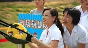 Chinese Theme Park creates life-size Angry Birds game and could face legal action
