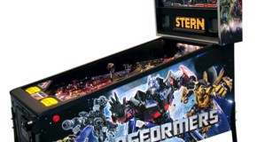 Transformers Pinball playfield and cabinet art