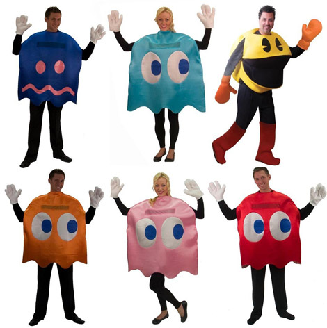 Pac-Man is a good starter this set would work great for a group of friends or a family. GameSetWatch has a run-down on the many Pac-Man costumes to choose ...  sc 1 st  Arcade Heroes & Arcade Heroes Arcade Related Halloween Costumes - Arcade Heroes