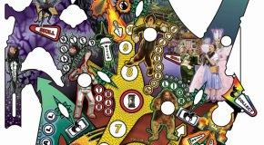 Wizard of Oz Pinball Playfield Art