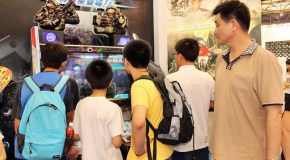 Arcade Games at the 8th China Cartoon-Comic-Game Expo In Shanghai