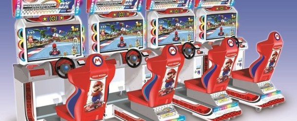Namco Formally Announces Mario Kart Arcade Grand Prix DX