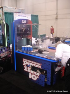Pong 180 at Amusement Expo '13