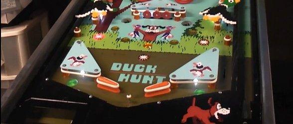 The Duck Hunt Pinball Machine by Skit-B Pinball