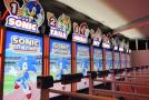 The Sonic Athletics Exergame Arcade Machine At The Tokyo Sega Joypolis