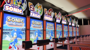 The Sonic Athletics Exergame Arcade Machine At The Tokyo Sega Joypolis