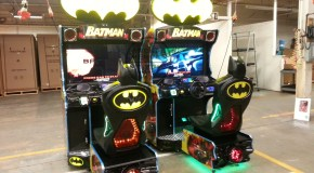 First Pic of Raw Thrills' BATMAN Arcade Cabinet