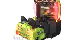Check Out InJoy Motion's Allied Tank Attack Cabinets