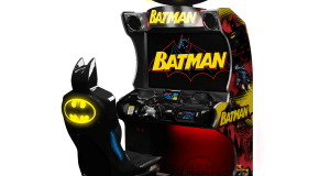 Check Out The Final Batman Arcade Cabinet