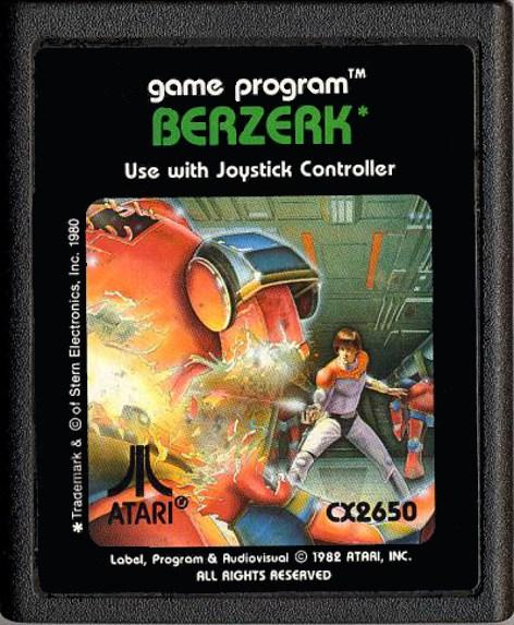 Berzerk for the Atari 2600