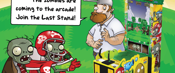 Plants Vs. Zombies The Last Stand Cabinet Unveiled