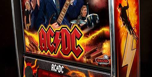 Stern Pinball Re-Issuing AC/DC