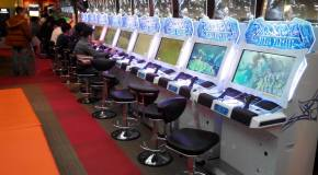 Japan Arcade – Museca & Gunslinger Stratos 2 in the USA; Dissidia Final Fantasy & new Pop 'N Music